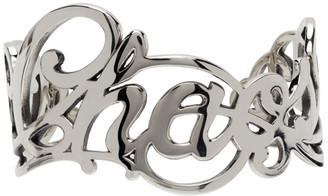 Undercover Silver Justin Davis Edition Chaos Cuff Bracelet