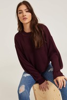 Ardene Boxy Bubble Sleeve Sweater