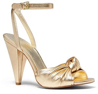 MICHAEL Michael Kors Suri Sandal (Pale Gold) Women's Shoes