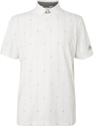 adidas Ultimate365 Logo-Print Stretch-Jersey Golf Polo Shirt