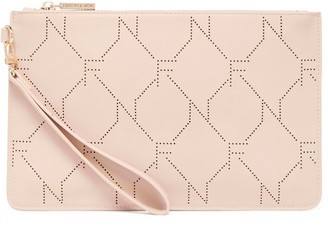 Forever New Lara Lazer Cut Pouch - Nude - 00
