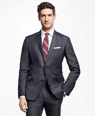 Brooks Brothers Regent Fit Tic with Double Windowpane 1818 Suit