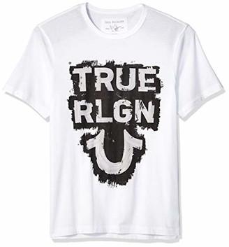 True Religion Men's SS TR TEE