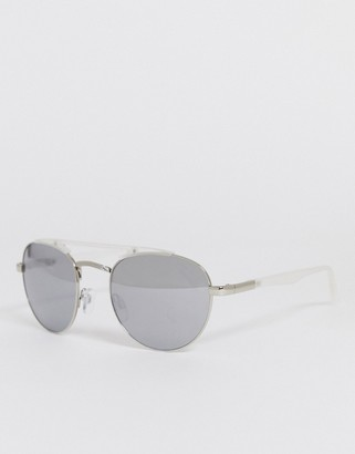 A. J. Morgan AJ Morgan fast aviator mirrored sunglasses