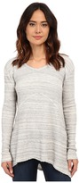 Mod-o-doc Spacedyed Thermal Seamed V-Neck Pullover