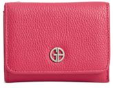Giani Bernini Softy Leather Mini Trifold Wallet, Created for Macy's