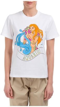 Alberta Ferretti Horoscope Print T-Shirt