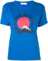 MAISON KITSUNÉ 'Mont Fuji' T-shirt
