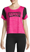 Tapout Short Sleeve Scoop Neck Graphic T-Shirt