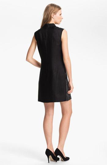 Nordstrom Miss Wu Floral Print Silk Dress Exclusive)