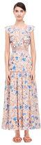 Rebecca Taylor Gigi Fleur Midi Dress