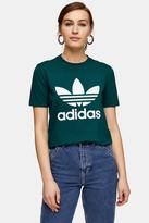 adidas Green Trefoil T-Shirt by