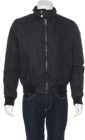 Yves Salomon Fur-Trimmed Bomber Jacket