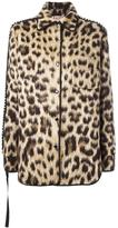 No.21 leopard print jacket - women - Cotton/Acetate/Viscose/glass - 36