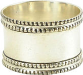 Asstd National Brand Set of 4 Silver-Tone Band Napkin Rings
