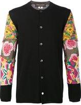 Comme des Garcons floral sleeve cardigan