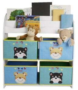 Mind Reader Toy and Book Organizer