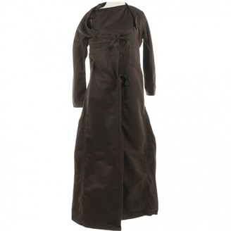 Gucci Brown Cotton Coat for Women