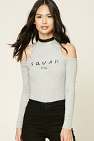 Forever 21 FOREVER 21+ Squad NYC Graphic Bodysuit