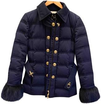 Versace Navy Coat for Women