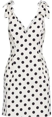 Zimmermann Corsage Bow-embellished Linen Mini Dress
