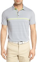 Bobby Jones Men's Tyson Tech Stripe Golf Polo