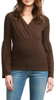 Maternal America Women's Maternal American Belly Hug Knit Maternity Top