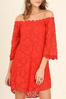 Umgee USA Red Lace Dress