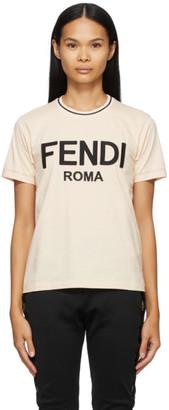 Fendi Pink Jersey T-shirt