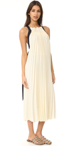 3.1 Phillip Lim Sleeveless Pleated Maxi Dress