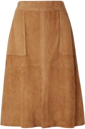 Frame Knee length skirts