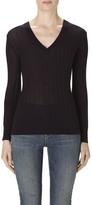 J Brand Allie Long Sleeve Sweater In Eventide