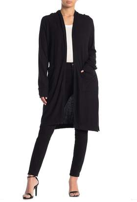 Couture Go Brushed Hacci Hooded Duster