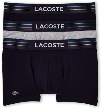 Lacoste 3-Pack Stretch Trunks