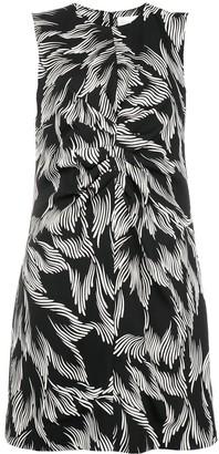 Victoria Victoria Beckham foliage print shift dress