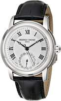 Frederique Constant Ferique Constant Men's FC710MC4H6 Maxime Leather Strap Dial Watch