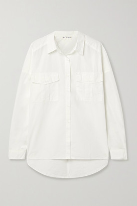 Alex Mill Keeper Cotton-poplin Shirt - White