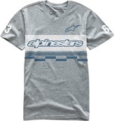 Alpinestars Alpine Stars Finish A Short Sleeve T-Shirt Grey Heather