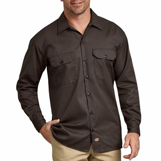Dickies Men's Big-Tall Long Sleeve Work Shirt