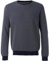 Zanone knitted sweater - men - Cotton - 50