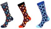 Jared Lang Diamond Socks (3 PK)