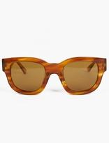 Acne Studios Light Tortoiseshell Frame A Sunglasses