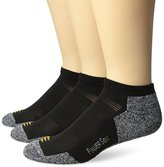 PowerSox Men's Powerlites No Show Sock Three Pack