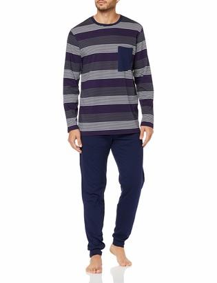 Seidensticker Men's Anzug lang Zweiteiliger Schlafanzug-167595 Pyjama Sets