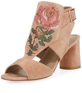 Donald J Pliner Haruna Cutout Floral Sandal