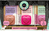 Too Faced Naughty Kisses and Sweet Cheeks makeup set
