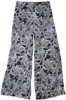 Acne Studios Blue Paisley Satin Trousers