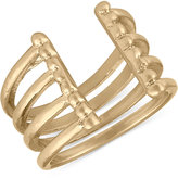 Rachel Roy Gold-Tone Four-Row Ring