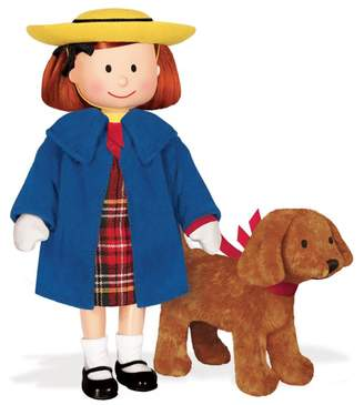 Yottoy Madeline 8'' Poseable Doll and Genevieve 4'' Soft Toy