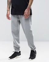 Asos Slim Fit Joggers In Gray Marl
